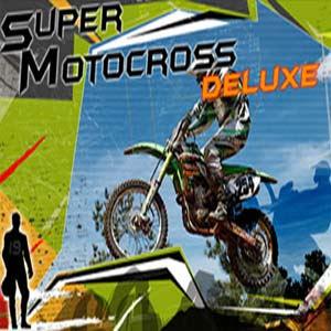 لعبة سباق الدراجات موتوكروس Super Motocross Deluxe
