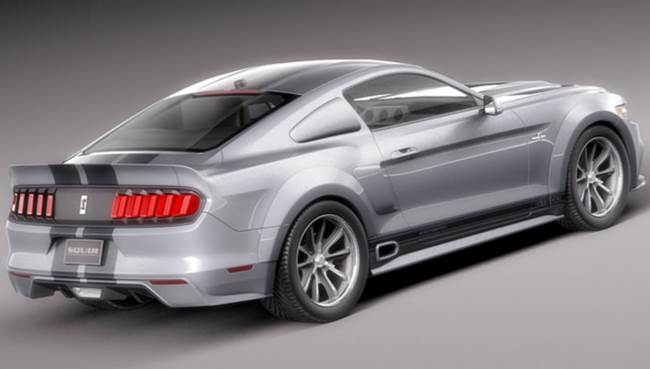 2018 Ford Mustang Facelift Exterior