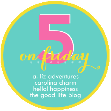 Five on Friday: A Link-up Party!