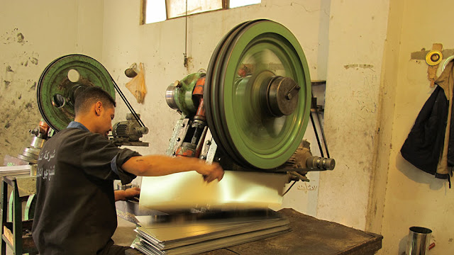 Tamam Company is manufacturing firm, which produces tin cans. The owner received a LE 350,000 loan under the Egypt Enhancing Access to Finance for Micro and Small Enterprises Project.
