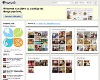 Strategically Social: Kitchens.com & Pinterest