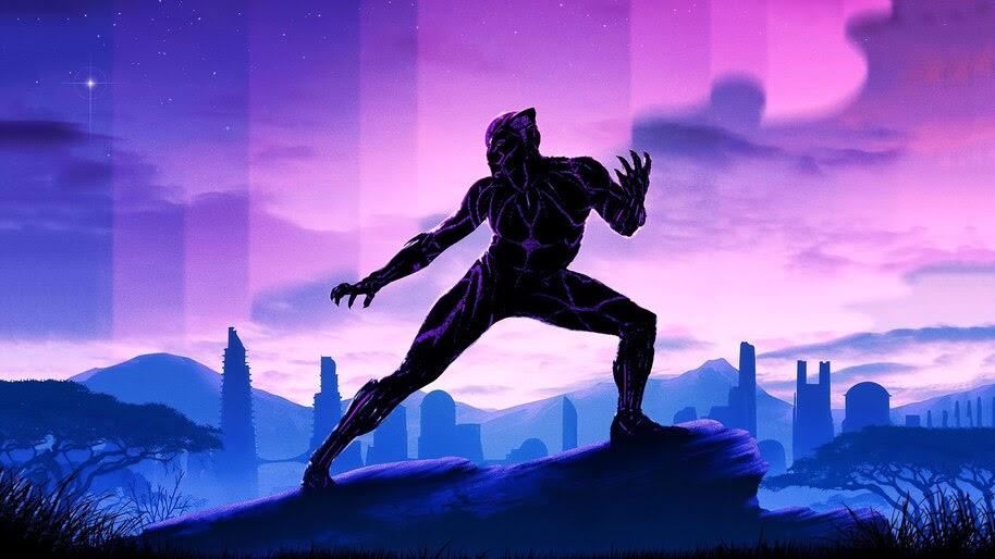 Black Panther, Marvel, Superhero, 4K, #6.2058