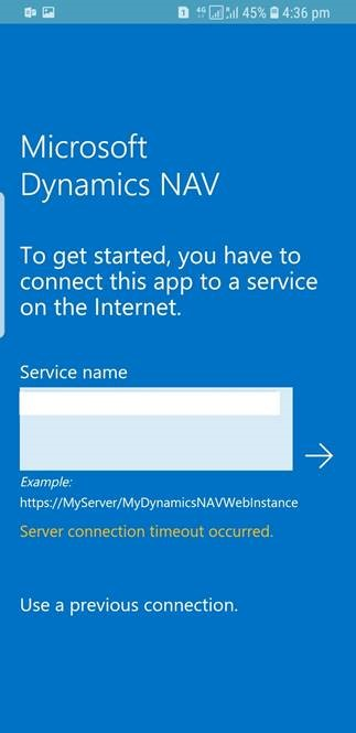 Dynamics Navbusiness Central Nav App Error - -8900