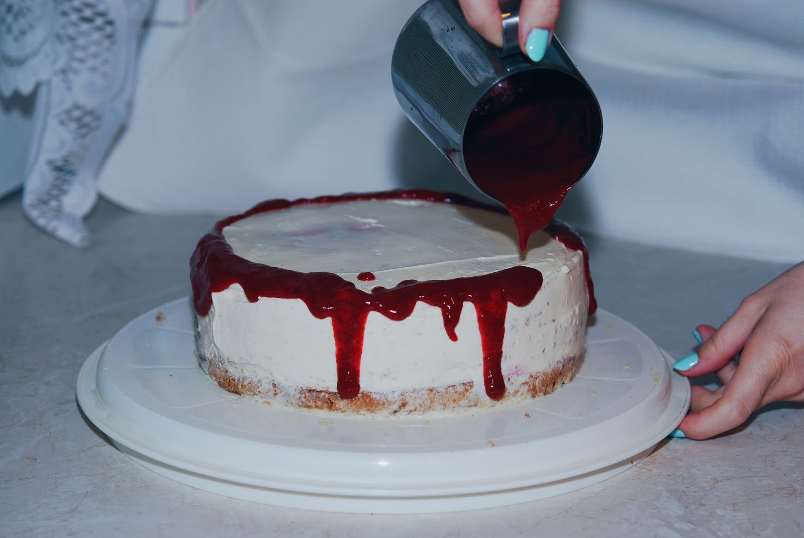 Strawberry Birthday Cake Foodie Sisters