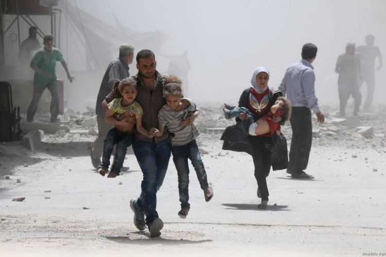 Gedung Putih Tuduh Rusia Bunuh Warga Sipil di Ghouta