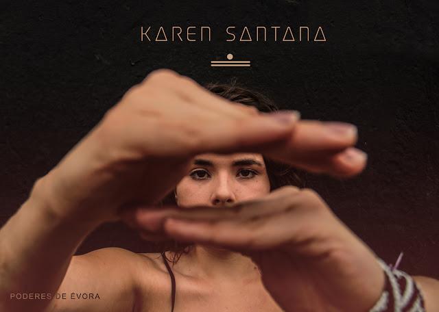 "Karen Santana lança álbum ""Poderes de Évora"" pura magia lírica!"