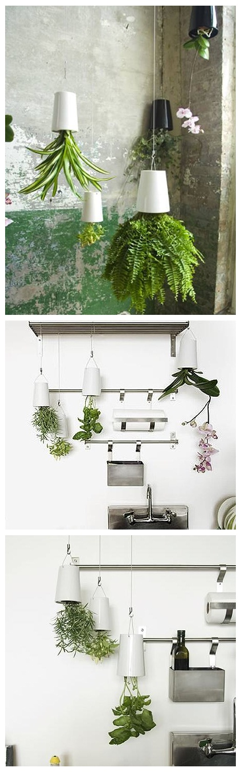 Perfect gardening design idea upside down planter for Perfect garden layout