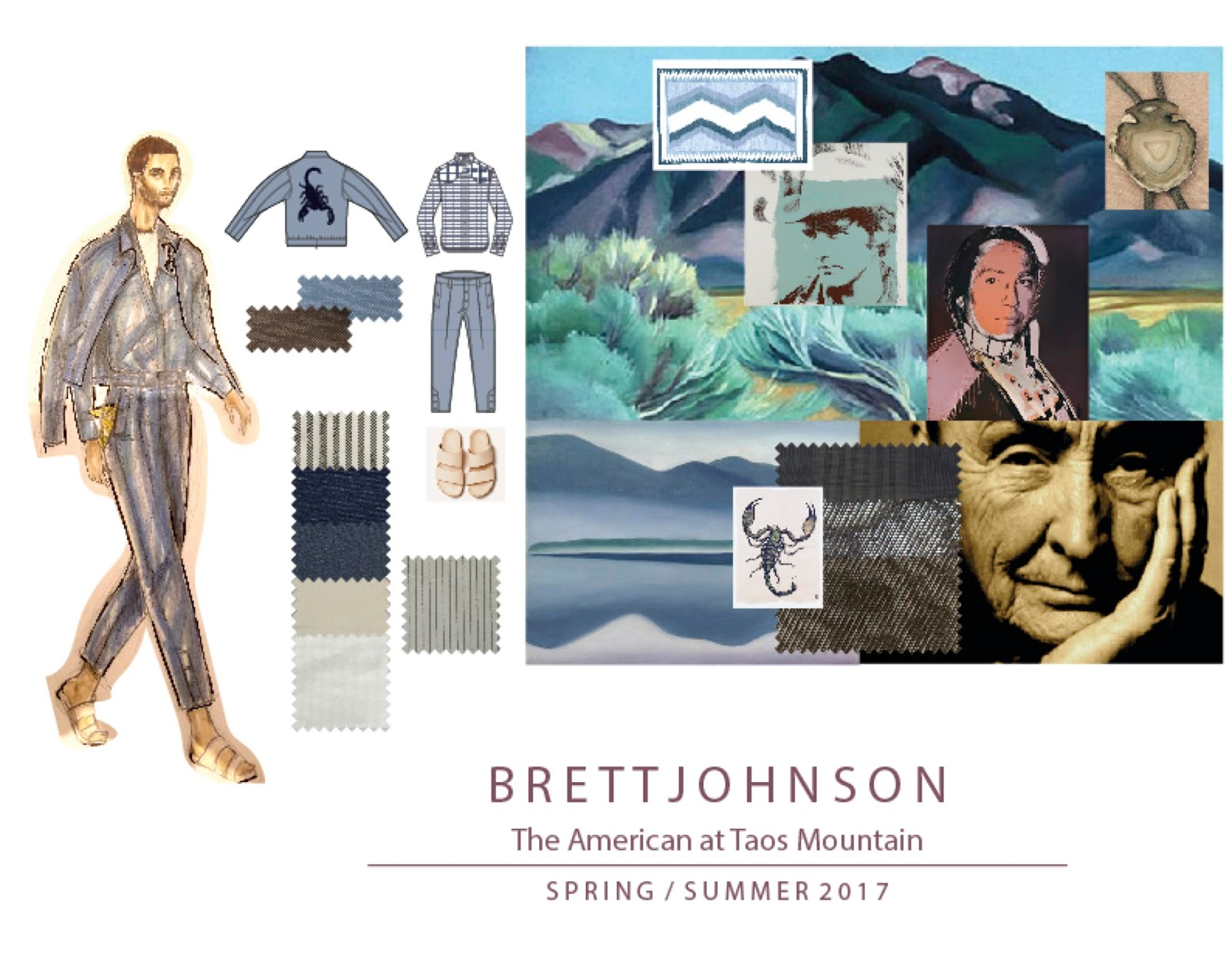 BRETT JOHNSON Spring / Summer 2017 PREVIEW