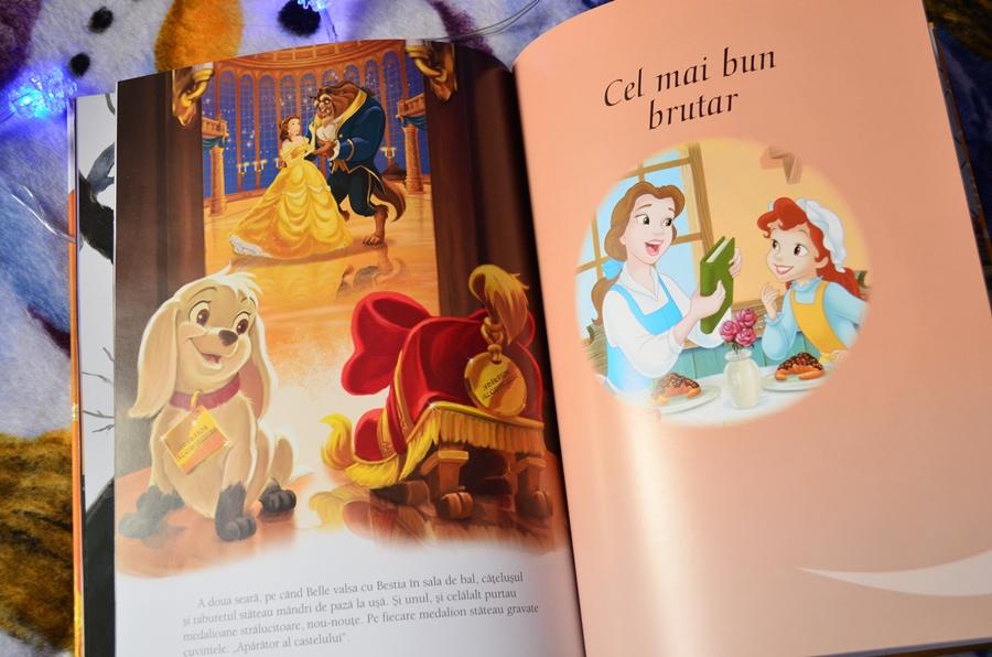 carte audiobook povesti copii belle o prietena adevarata disney editura litera