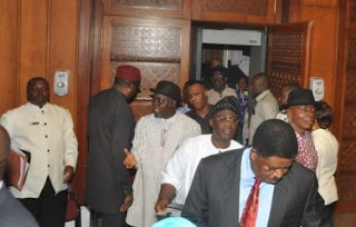 BREAKING: Drama At The Senate As PDP Senators Stage Walkout Over Defection Brouhaha