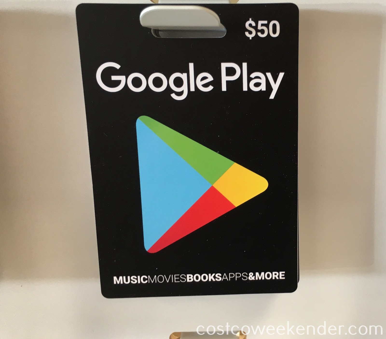 Get a jump on the holiday gift-giving season with the Google Play $50 Gift Card