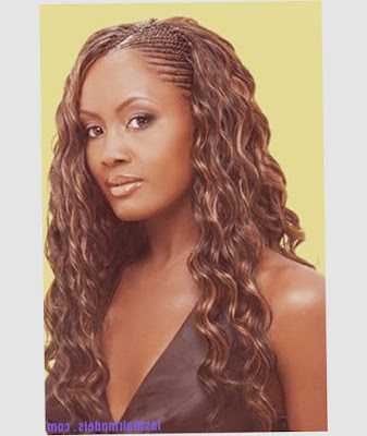 African American Hairstyles Braids Front Unique