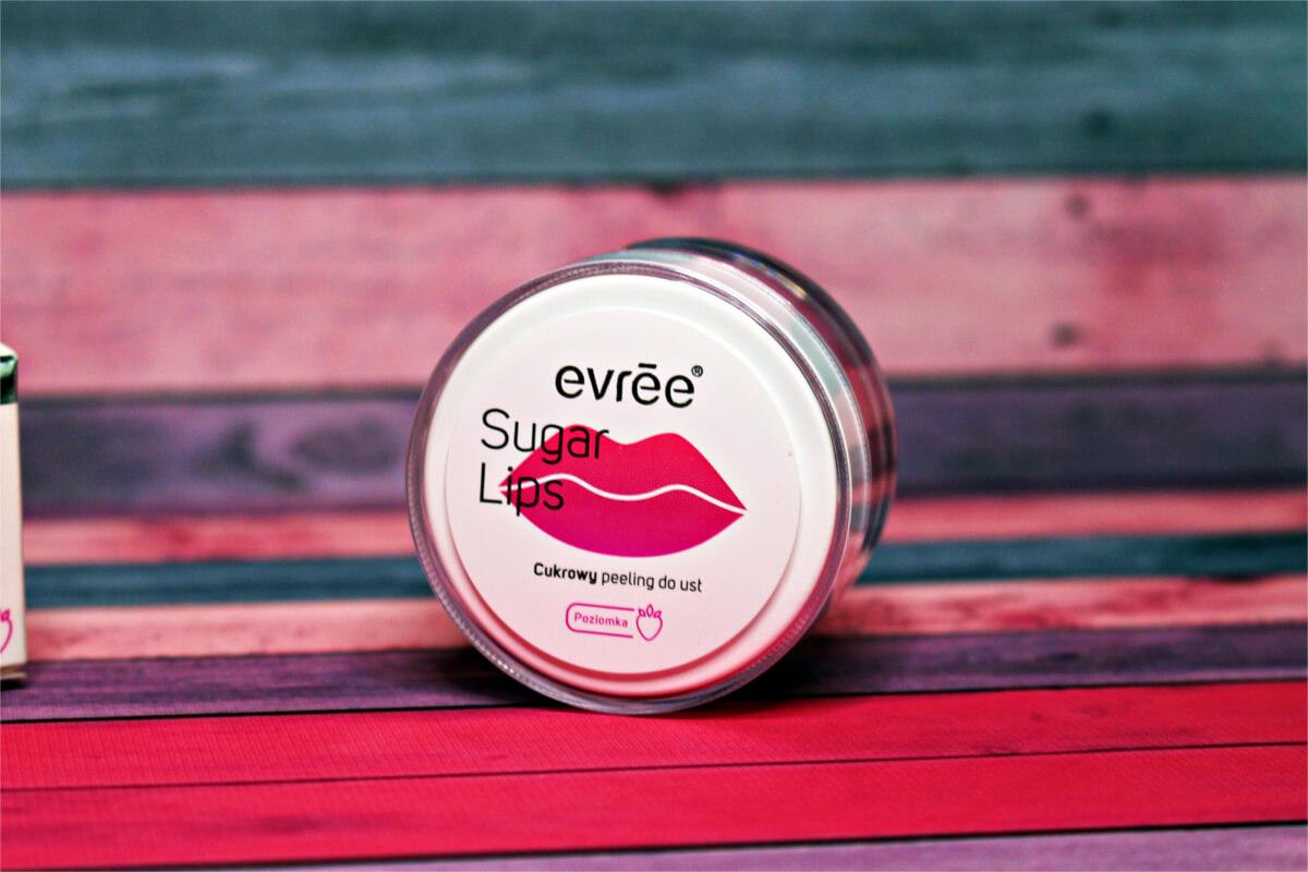 Evree Sugar Lips cukrowy peeling do ust - poziomka