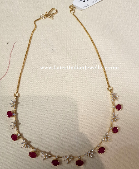 Diamond Necklace Under 1Lakh