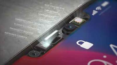 sensor kamera iphone x