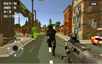 Games Tembak Tembakan Teroris Counter Attack Terrorist City Apk