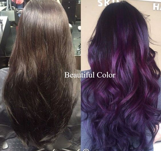 The Best Color For Girls With Black Hair Blackberry