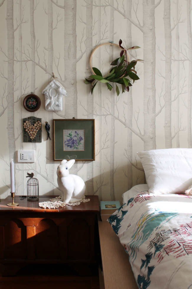 Mountain style nella mia camera da letto - Cappello A Bombetta