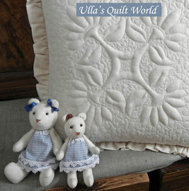 Teddy bear quilt and pattern, Trapunto pillowcase quilt