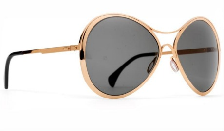 Finest Seven sunglasses: Zero 2 in rose gold