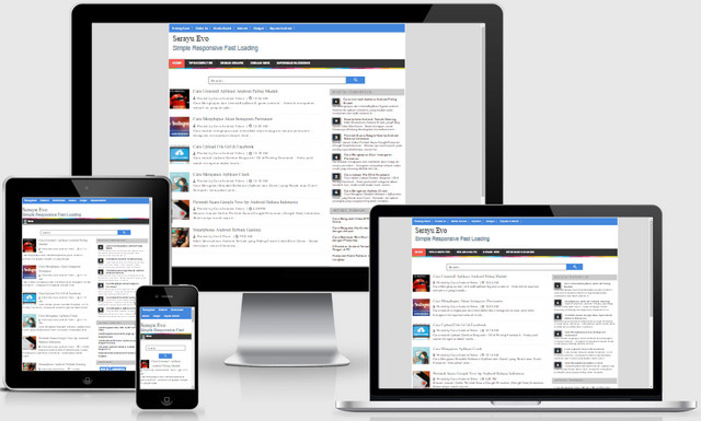 Serayu Evo Responsive Blogger Templates