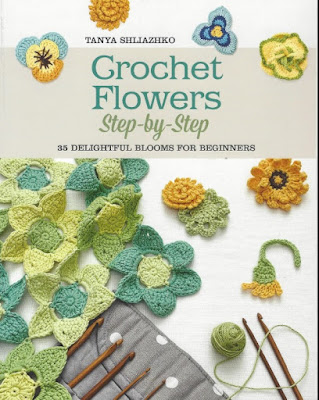 Revista Crochet Flowers Step by Step