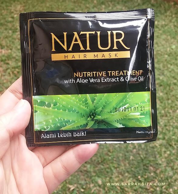 natur hair mask