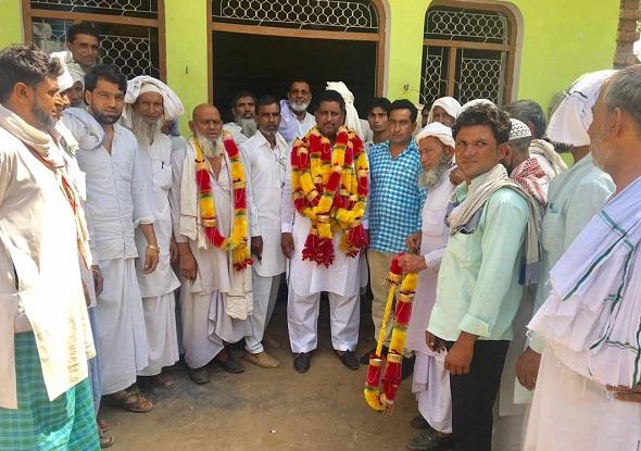 भाजपा सरकार ही करा सकती है मेवात जिले का भरपूर विकास:आलम