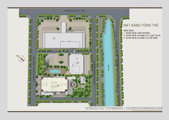 Quy hoạch tổng thể dự án chung cư Vinata Tower