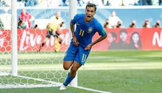 No sufoco, Brasil supera a Costa Rica e consegue primeira vitória na Copa do Mundo