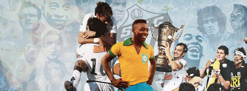"""""""O livro 10 décadas - a história do Santos F.C. traz uma série de histórias  deliciosas 26f1e79fbc786"""