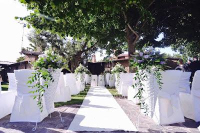 cerimonia civile all'aperto villa valente