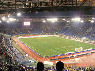 The Stadio Olimpico is the home of Rome's two soccer clubs