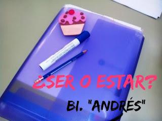 SER-ESTAR. Ejercicio. Andrés