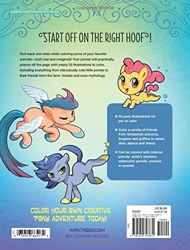 Mlp REAL HORSES - My Little Pony Coloring Book Video ...