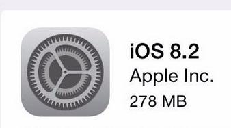 Apple Release iOS 8.2 1