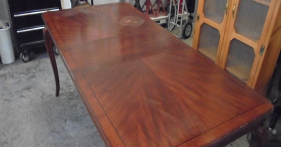 Refinishing A Dinning Room Table
