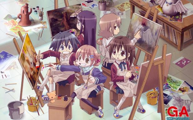 Moonlight Summoner' Anime Sekai Ga Geijutsuka Art