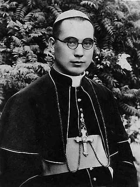 Cardeal Paul Yü Pin (1901 - 1978), arcebispo de Nanquim