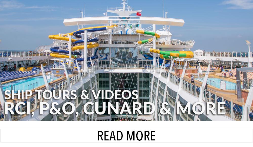 Cruise Blogger Ship Tours
