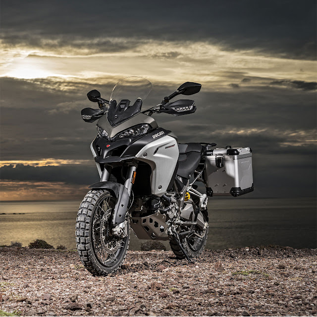 Ducati Multistrada 1200 Enduro Motorcycle: Globetrotter attitude