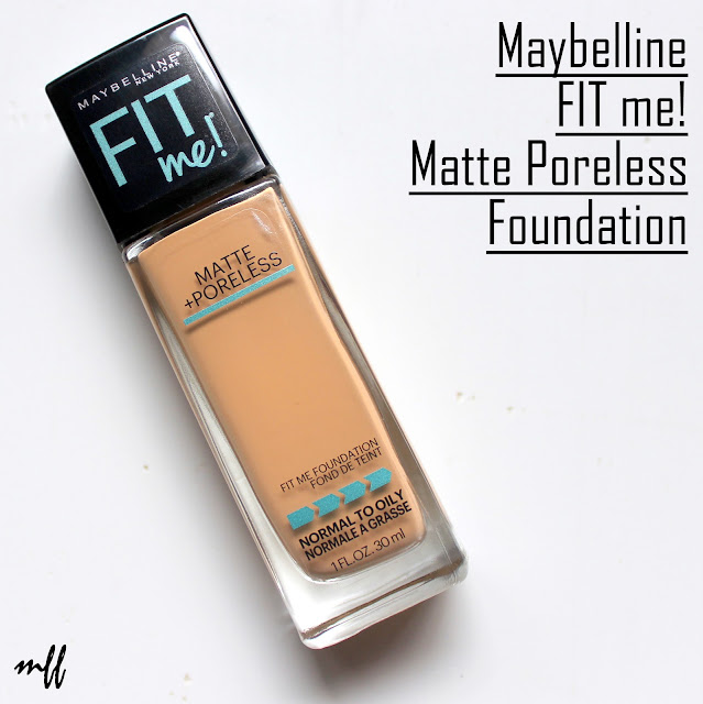 Maybelline FIT me! Matte Poreless Foundation India - Review and Swatches