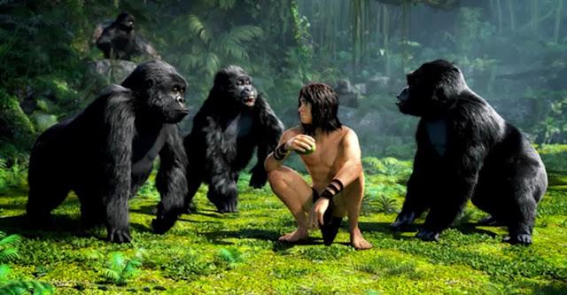 Kellan Lutz este Tarzan