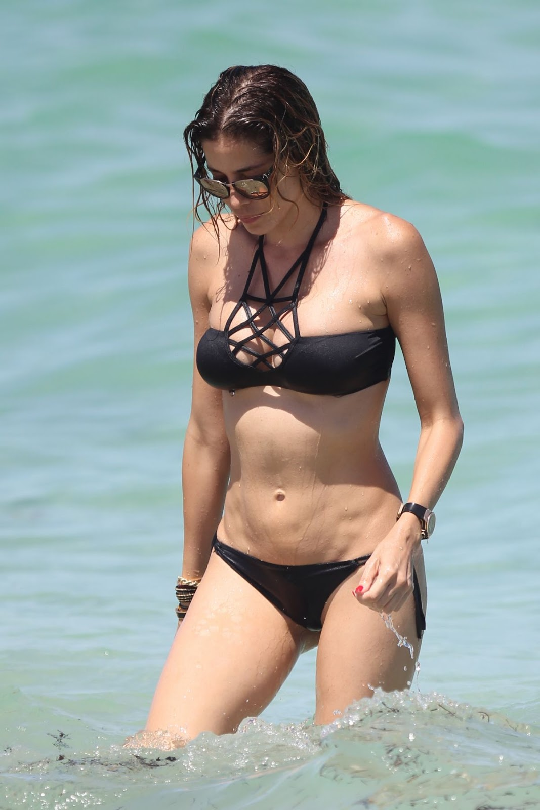 Celebrity life-news-photos: Aida Yespica in bikini a Miami