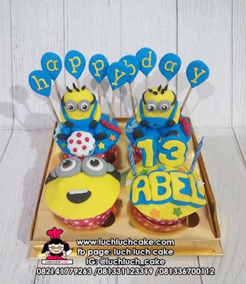 Cupcake Tema Minion