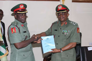 General Kazaure Takes Over as NYSC DG, Promises Fairness to All
