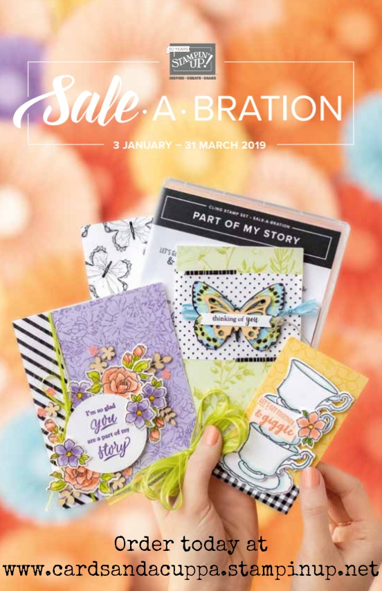 Sale-a-Bration 2019 Catalogue.