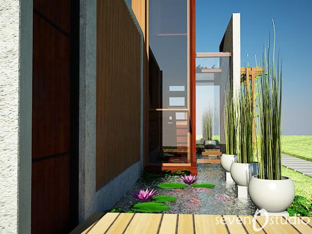 Desain Rumah Interior Dan Exterior Ala Gue Desain Eksterior Rumah Tropis Modern