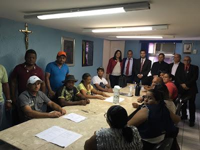 Vereadores se reuniram com comissão dos movimentos Sem Terra e Sem Teto