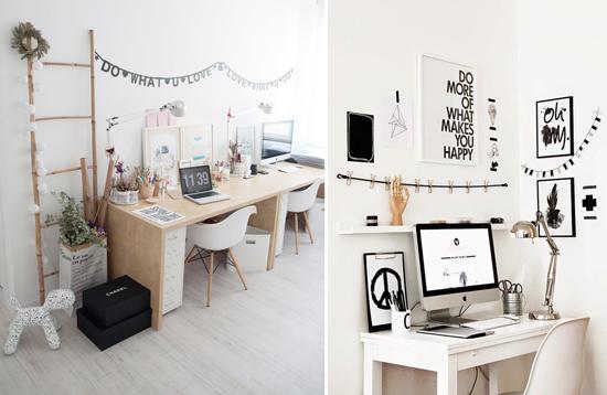 Blog de mbar muebles consejos para montar y decorar tu - Decorar despacho en casa ...